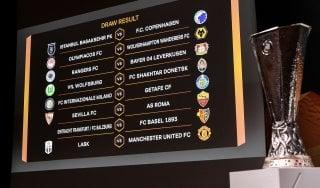 Europa League, sorteggio ottavi: Inter contro il Getafe, per la Roma c'è il Siviglia