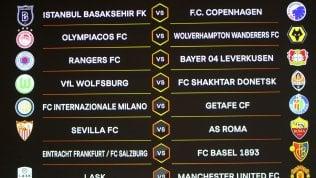 Europa League, sorteggio ottavi: l'Inter trova il Getafe, per la Roma c'è il Siviglia