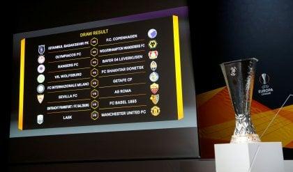 Europa League, Italia-Spagna negli ottavi: l'Inter trova il Getafe, Siviglia per la Roma