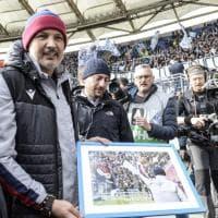 Lazio-Bologna, l'abbraccio dell'Olimpico a Mihajlovic