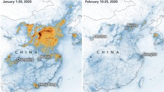 Effetto coronavirus, la Nasa: in Cina lo smog è diminuito