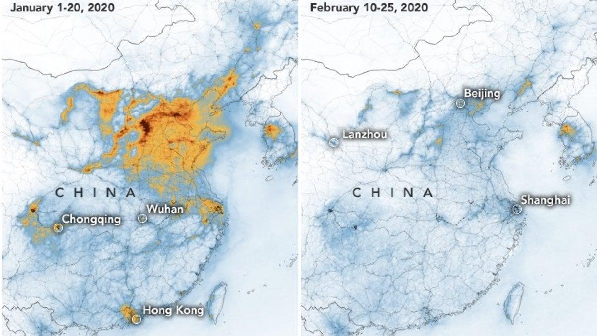 Cartina Climatica Cina.Effetto Coronavirus La Nasa In Cina Lo Smog E Diminuito La Repubblica