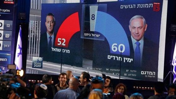 Elezioni Israele, la vittoria di Netanyahu ma resta l'incognita della maggioranza
