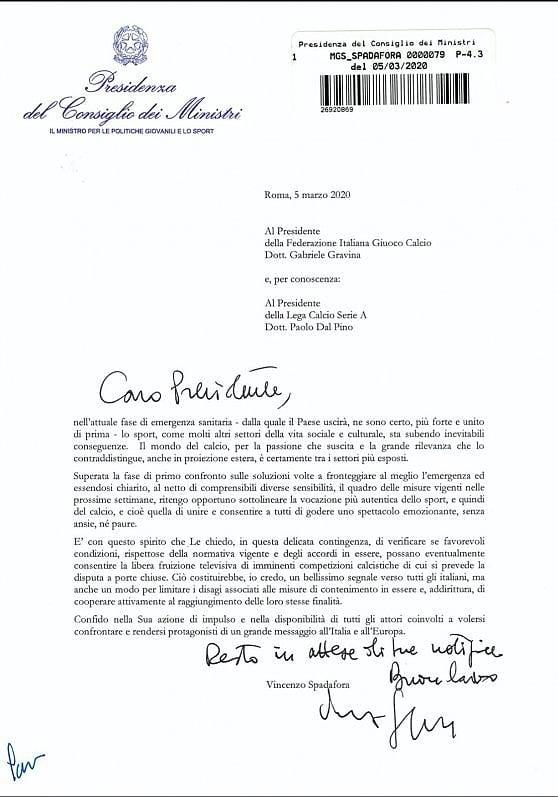 Serie A Spadafora Partite In Chiaro Rai Possiamo Trasmettere In Tutta Italia Diffida Mediaset Juve Inter Su Canale 5 La Repubblica