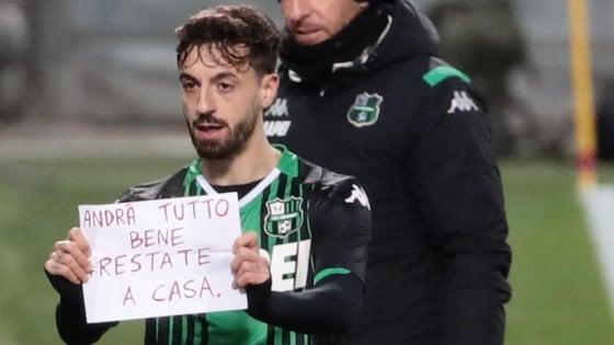 Sassuolo-Brescia 3-0: Caputo tra gol e messaggi, gli emiliani vincono facile
