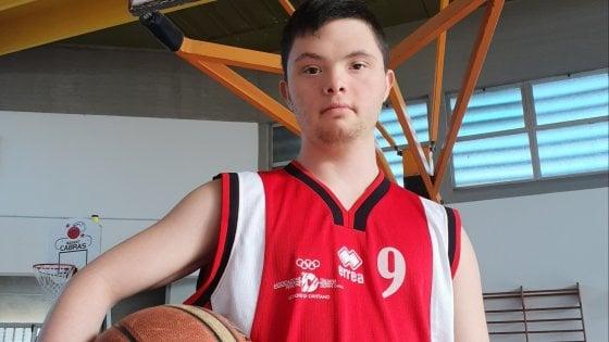 """Alessio, dal calcio al basket con un sogno nel cuore: """"Diventerò un campione"""""""