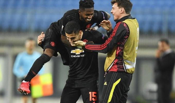 Europa League: Manchester United a valanga, il Basilea sorprende l'Eintracht