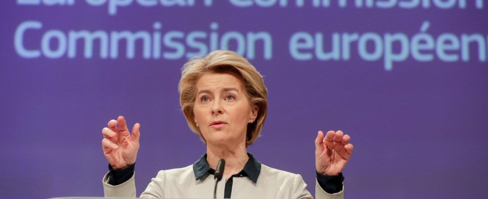 """Emergenza coronavirus, Ursula Von der Leyen (Commissione Ue): """"Daremo all'Italia tutto quello che chiede"""""""