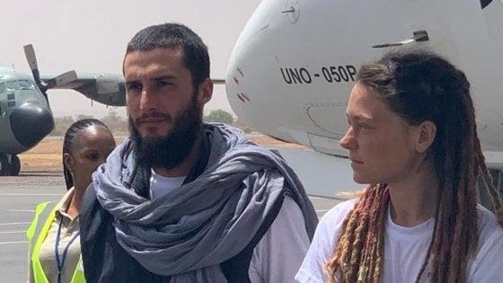 """Tacchetto in Italia con la compagna canadese: """"Siamo stati trattati bene, mai minacciati con armi"""""""
