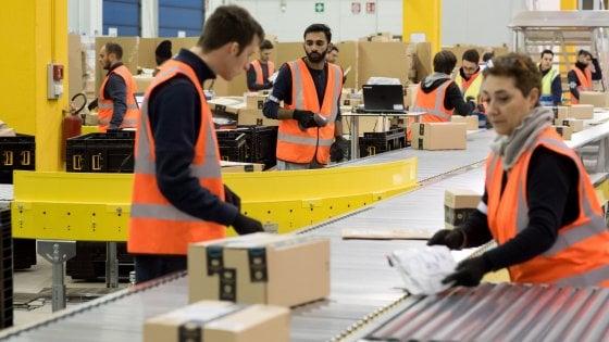 Amazon, sciopero all'hub di Castel San Giovanni. I sindacati Non tutelata la salute dei lavoratori