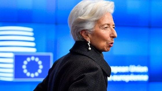 Christine Lagarde, presidente della Banca centrale europea