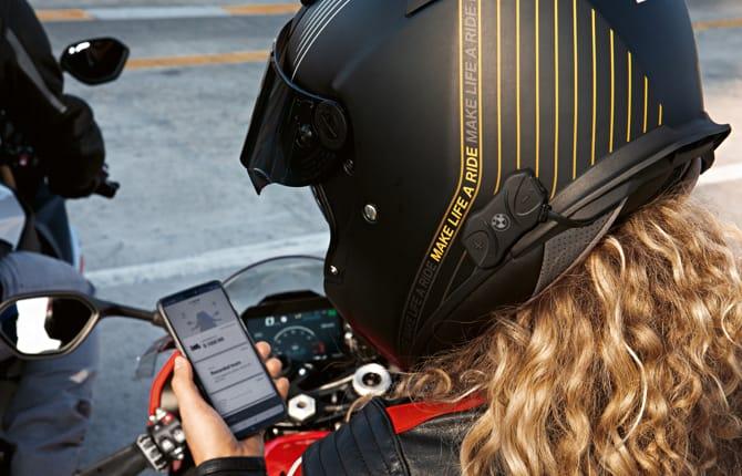 BMW Motorrad App, connettività su due ruote