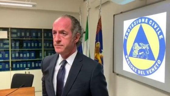 """Tamponi da Brescia agli Usa, Zaia protesta: """"A noi li danno con il contagocce"""""""