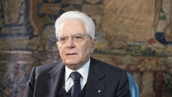 """Mattarella: """"Mafie un cancro, le estirperemo con la cultura e la coesione delle comunità"""""""