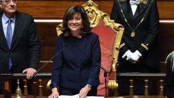 """Casellati: """"Il Senato non si ferma. L'Ue dimostri ora di essere una casa comune"""""""
