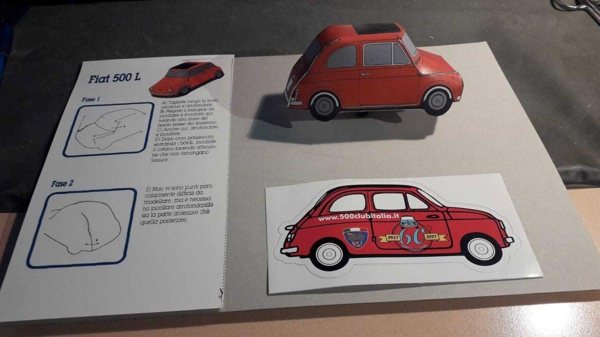 Modelli Di Case Da Costruire i miti dell'auto in modellini di carta. da stampare e