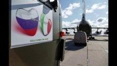 """""""Dalla Russia con amore"""", in arrivo in Italia gli aiuti di Putin"""