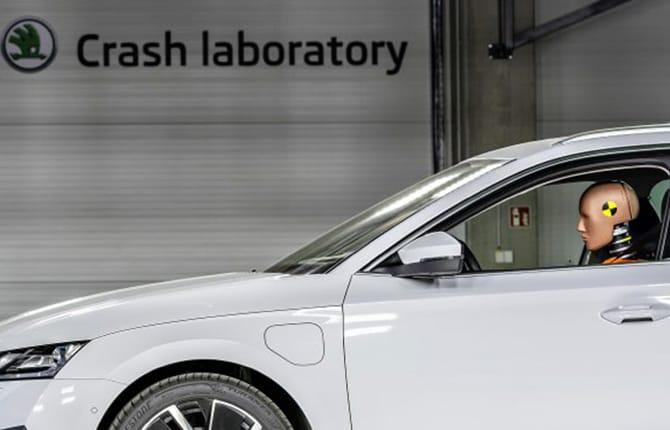 Škoda, un nuovo centro per i crash test