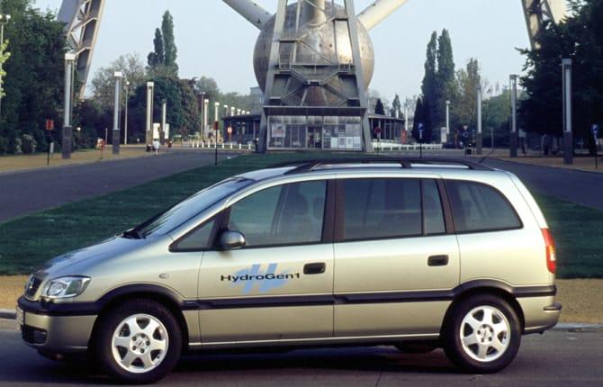 Zafira HydroGen1, quel futuro di 20 anni fa...