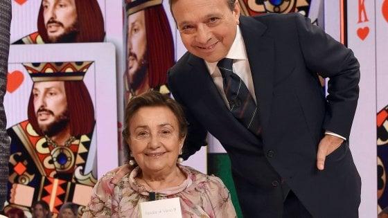 Chiambretti saluta su Instagram la mamma Felicita con una sua poesia