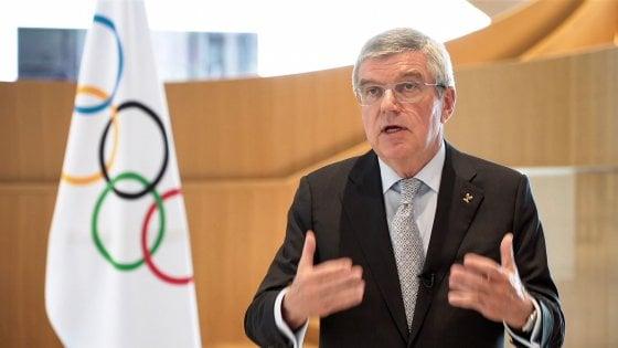 """Rinvio Olimpiadi Tokyo, Bach: """"Ora cerchiamo scenari ideali, Giochi entro l'estate del 2021"""""""