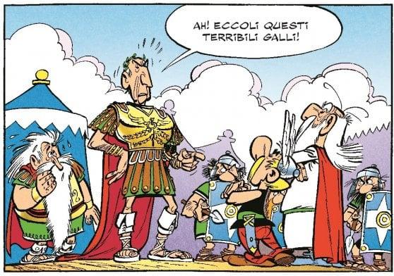 Quella volta che Albert Uderzo venne a Roma