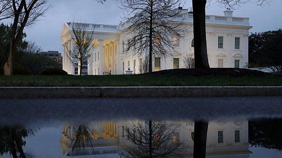 La Casa Bianca, residenza del presidente Usa Donald Trump