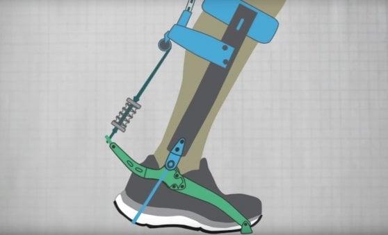 Un esoscheletro da caviglia ci farà correre più veloci senza sforzi