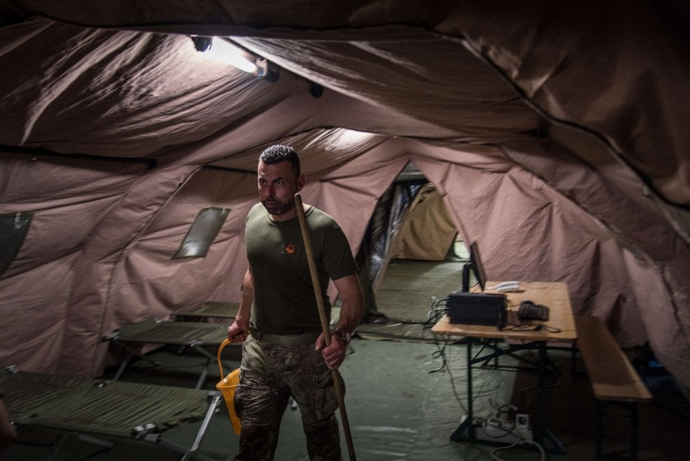 War Surgery: Italia, reparti in campo come in trincea