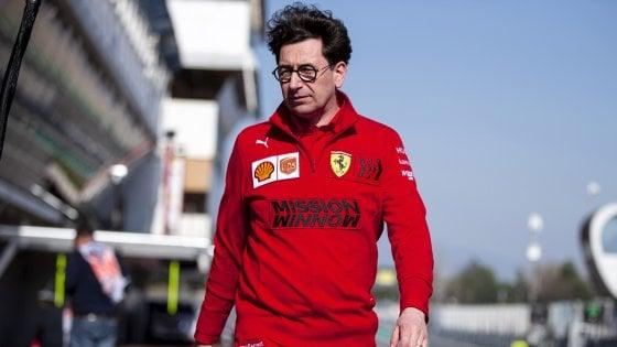 """F1, Ferrari; Binotto: """"Pronti a 2-3 Gp anche a gennaio"""""""