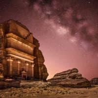 Arabia, la sala concerti a specchio è da record; svelerà i resti della città-gemella di Petra