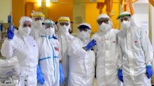 Il fronte del coronavirus: reportage dalla terapia intensiva di Parma foto di MARCO VASINI