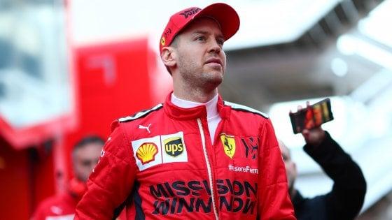 """F1, Vettel: """"Non sottovalutate l'epidemia. La mia carriera? Sono stato fortunato"""""""