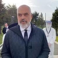 Coronavirus, per Edi Rama elogio bipartisan della politica italiana. E Conte posta la...