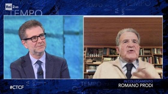"""Coronavirus, Prodi: """"Italia pensi già ora a ricostruz"""