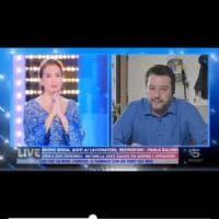 Tv del dolore, Salvini e D'Urso sommersi di critiche sui social per l'Eterno riposo...