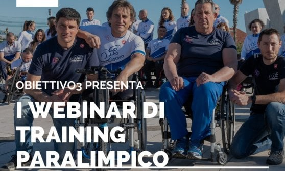 """""""Sport, dove nasce la motivazione?"""": con Zanardi e Obiettivo 3 i webinar di training paralimpico"""
