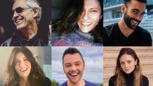'Musica che unisce', gli artisti italiani contro il virus: una serata benefica per vincere, insieme
