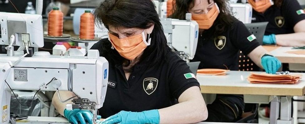 Il cuore grande dell'auto: tutti a produrre mascherine e respiratori per ospedali