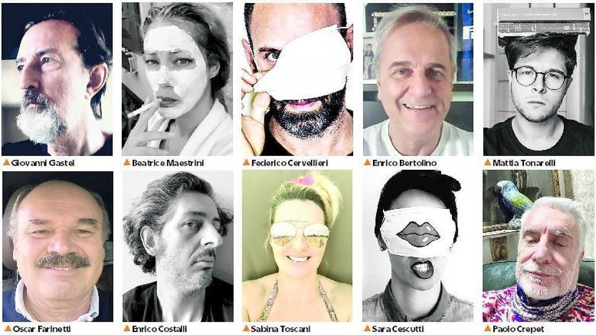 """Un selfie per Oliviero Toscani: """"Diventiamo reporter di noi stessi"""""""