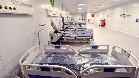 Coronavirus, Milano: l'hub con 205 letti nei padiglioni della Fiera