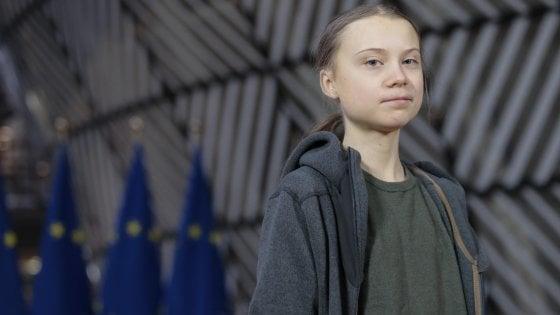 Clima, Greta Thunberg in diretta con Fridays For Future Italia