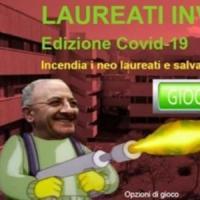 Coronavirus, Laureandi Invaders: De Luca contro le feste ora è un videogame