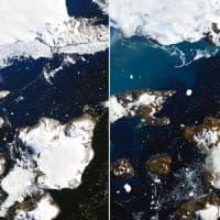 L'estate dei record in Antartide, temperature oltre i 20°