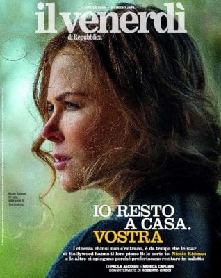 #Io resto a casa. Vostra. Star di Hollywood in tv, incontro con Nicole Kidman