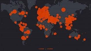 Il contagio nel mondo