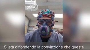 """I medici di NY: """"I polmoni di chi è malato come quelli di chi annega"""""""
