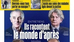 """Francia, gaffe di """"Le Parisien"""": """"Il futuro dopo il virus"""", parlano solo i maschi bianchi"""
