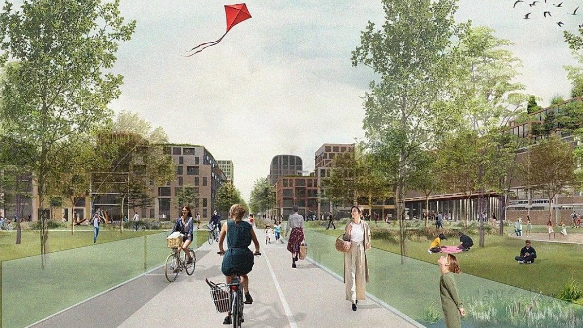 Utrecht sogna in verde: un quartiere senz'auto per 12 mila persone