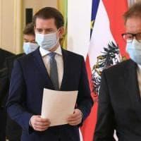 Coronavirus: l'Austria allenterà le restrizioni dal 14 aprile